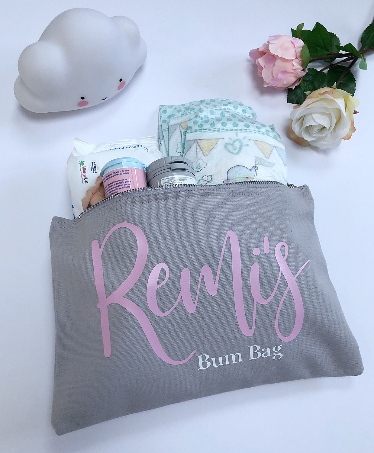 Personalised Nappy Pouch
