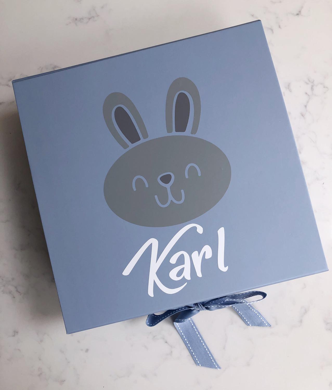 Boys Bunny Gift Box