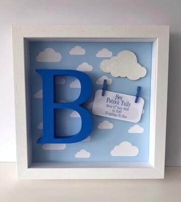 Blue clouds Frame