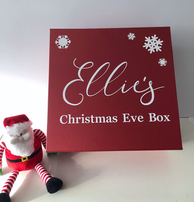 XL Personalised Christmas Eve Boxes