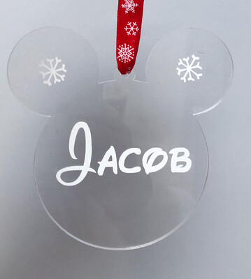 Personalised Disney Style Decoration