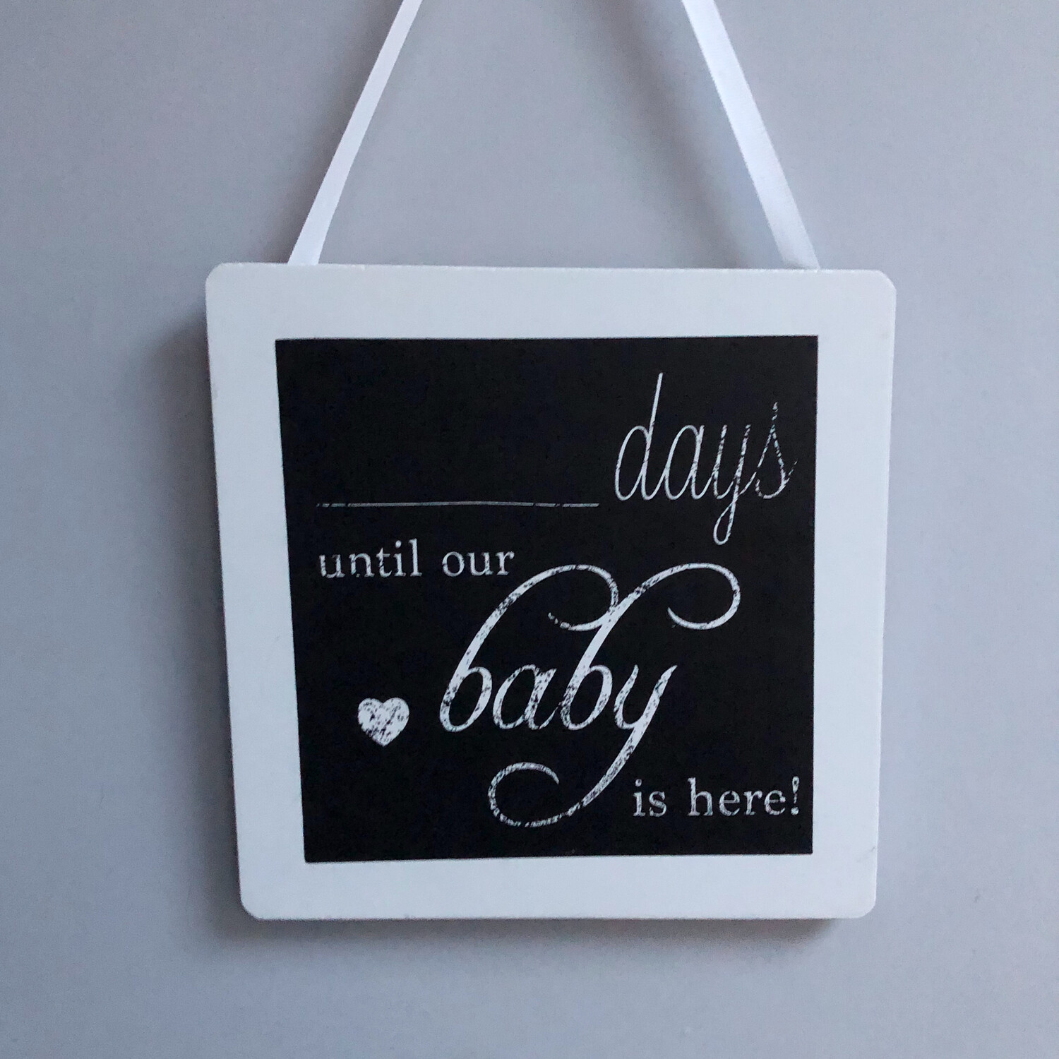 Days until our Baby is here countdown