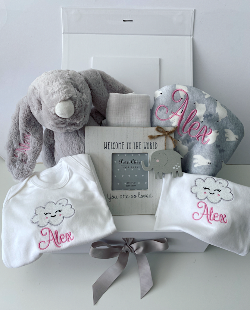 Luxury Personalised Baby Gift Box