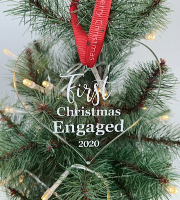 First Christmas Engaged 2020