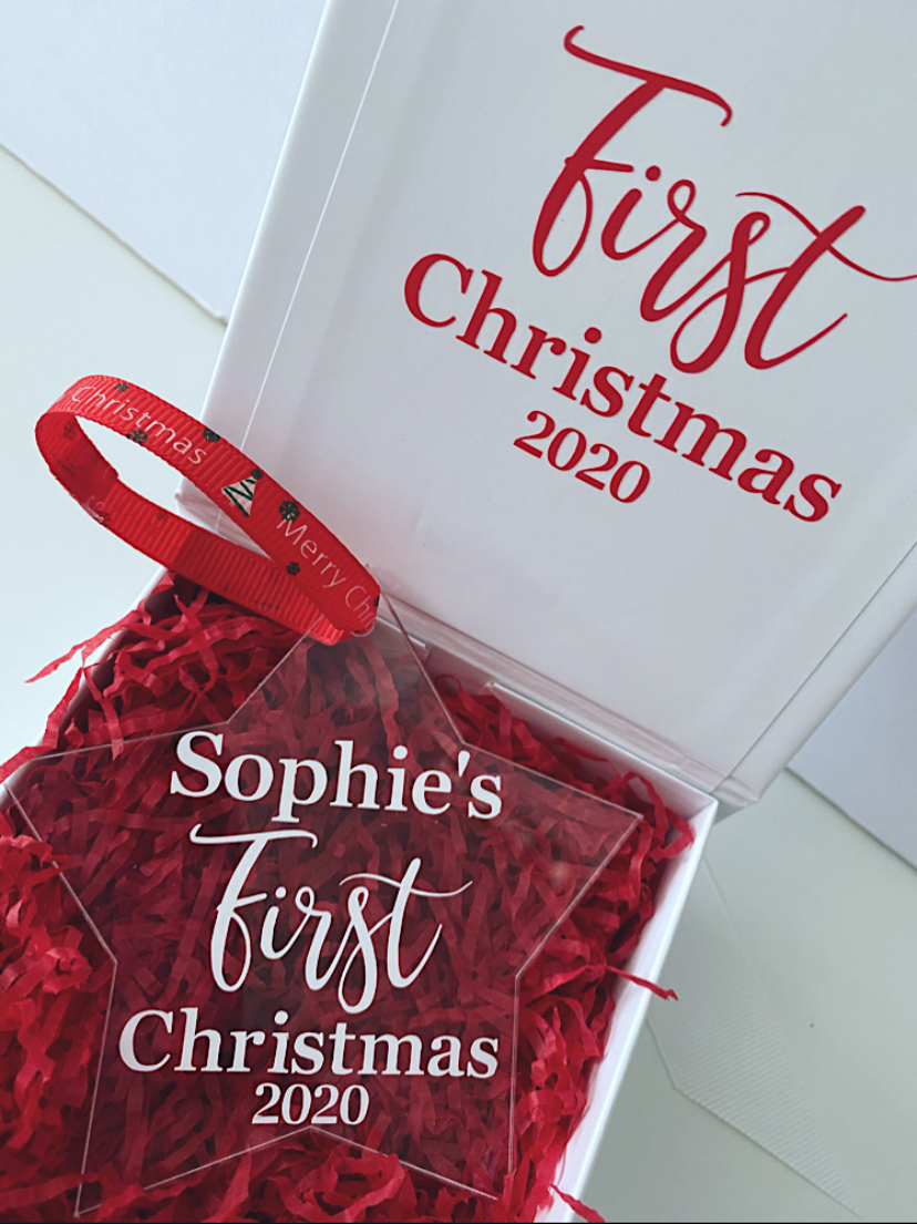 First Christmas Decoration Gift Set
