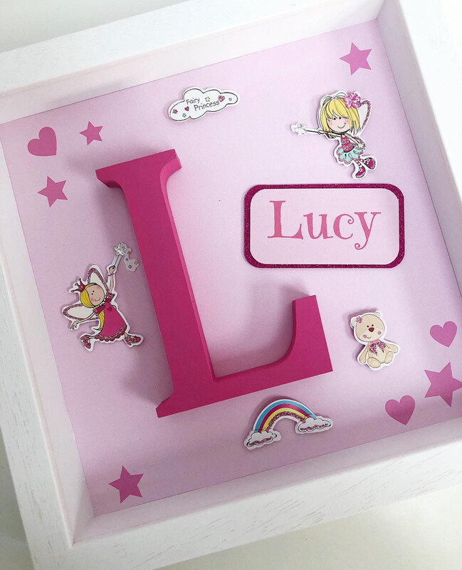 Fairy Princess Alphabet Frame