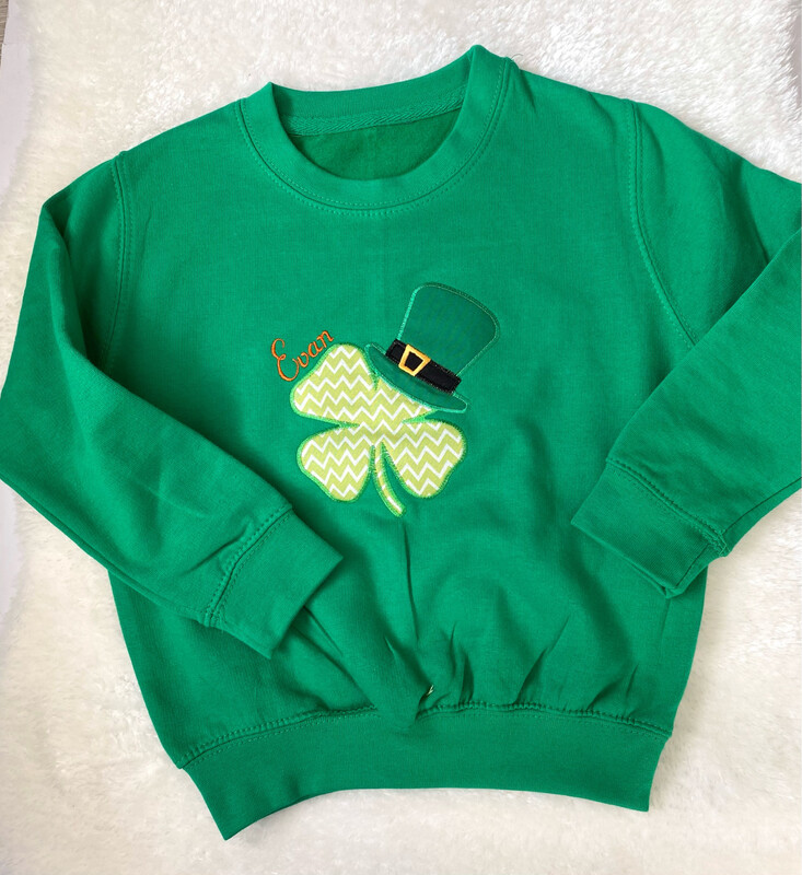 Personalised St. Patricks Day Sweatshirt