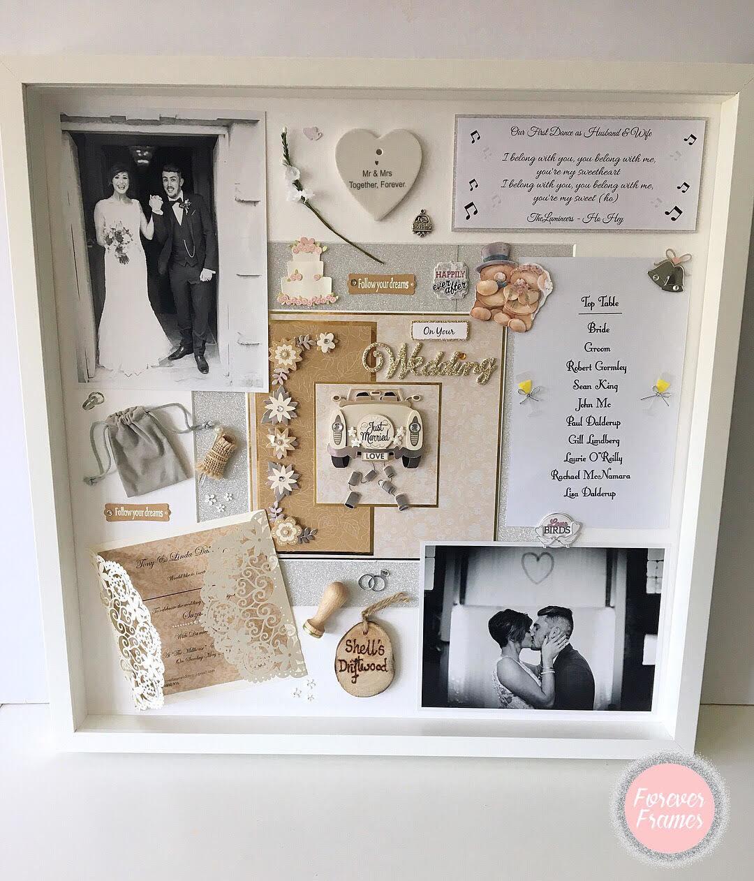 Wedding Keepsake Frame