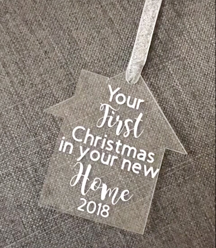 First Christmas in your New Home Decoration
