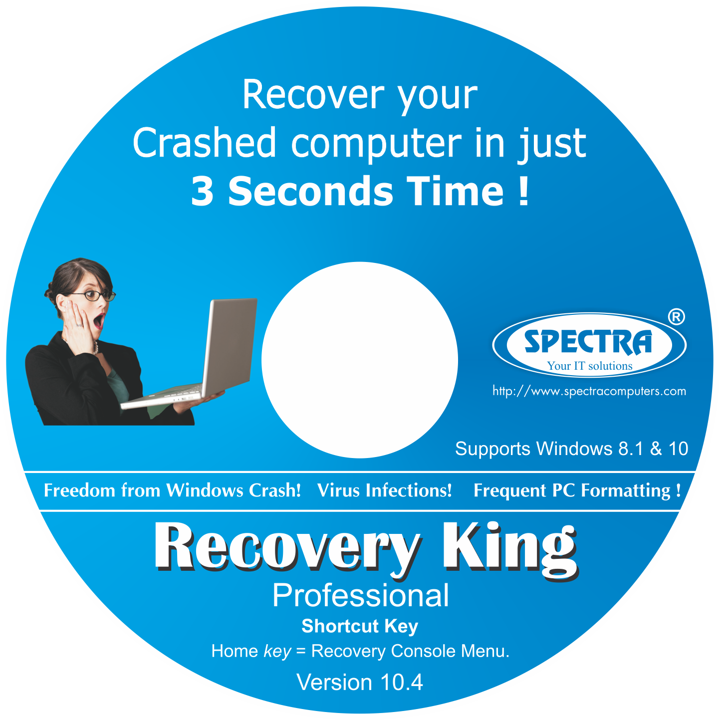 Spectra Recovery King Professional (Lifetime Edition)