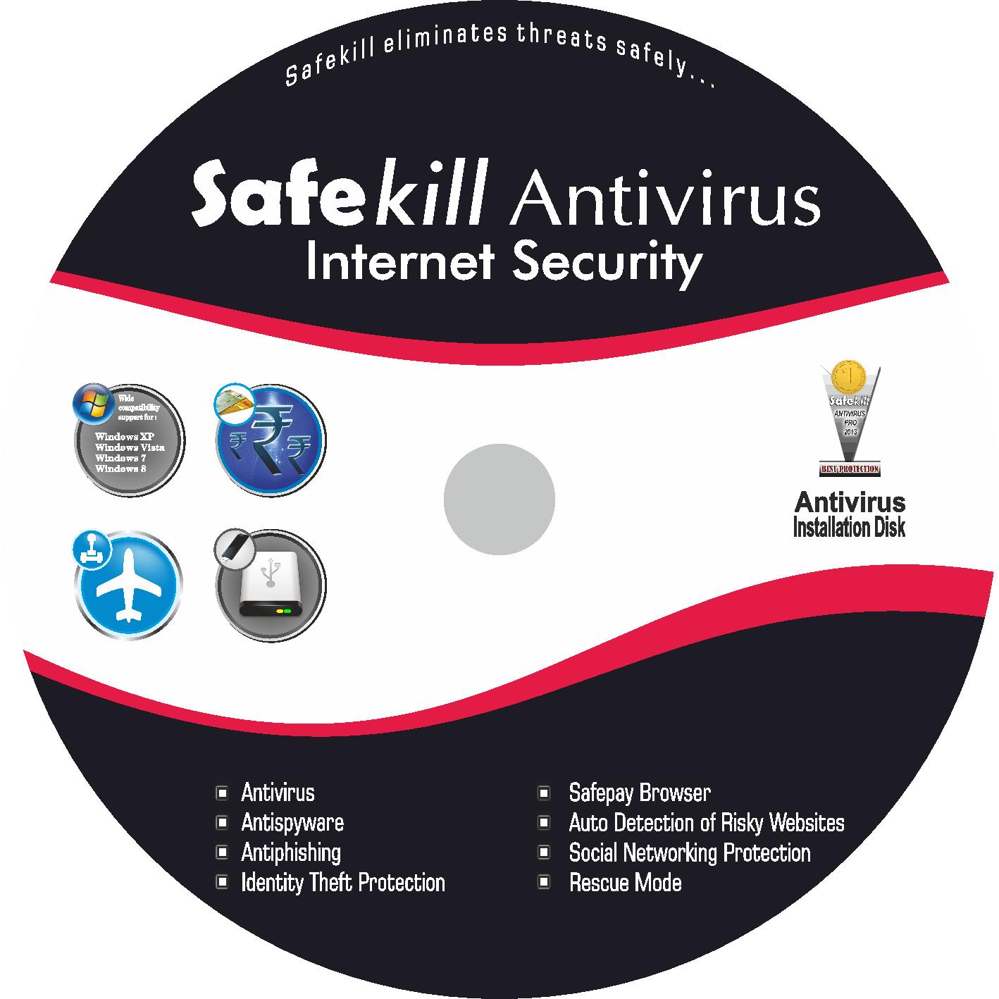 Safekill Antivirus (1 year / 1 User)