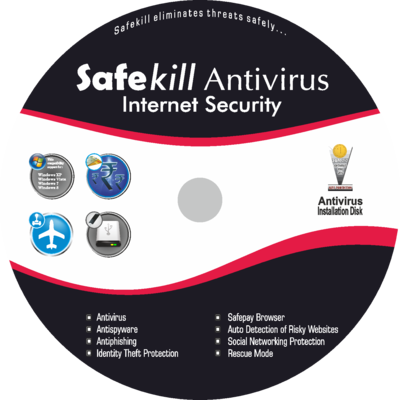 Safekill Antivirus (1 year / 1 User)