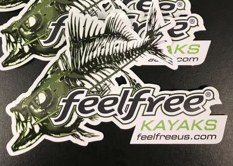 FeelFree Stickers Bone Fish