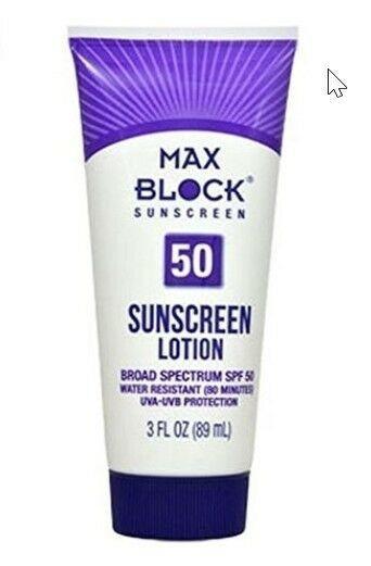 Max Block 50 Spf Sunscreen