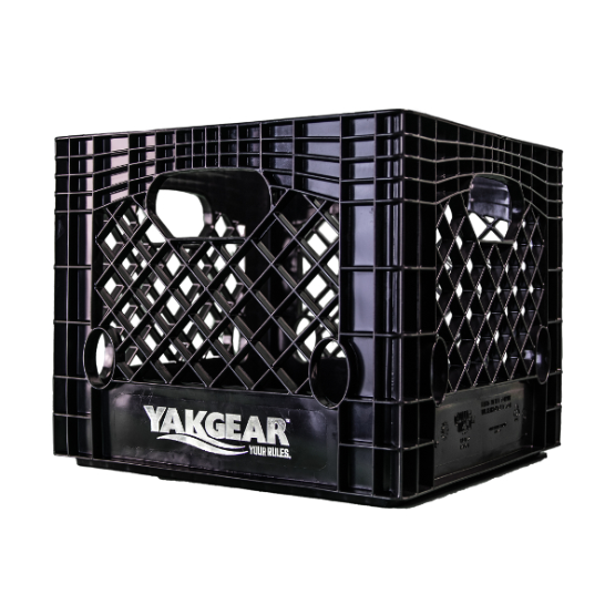 YakGear Black Angler Crate – Square