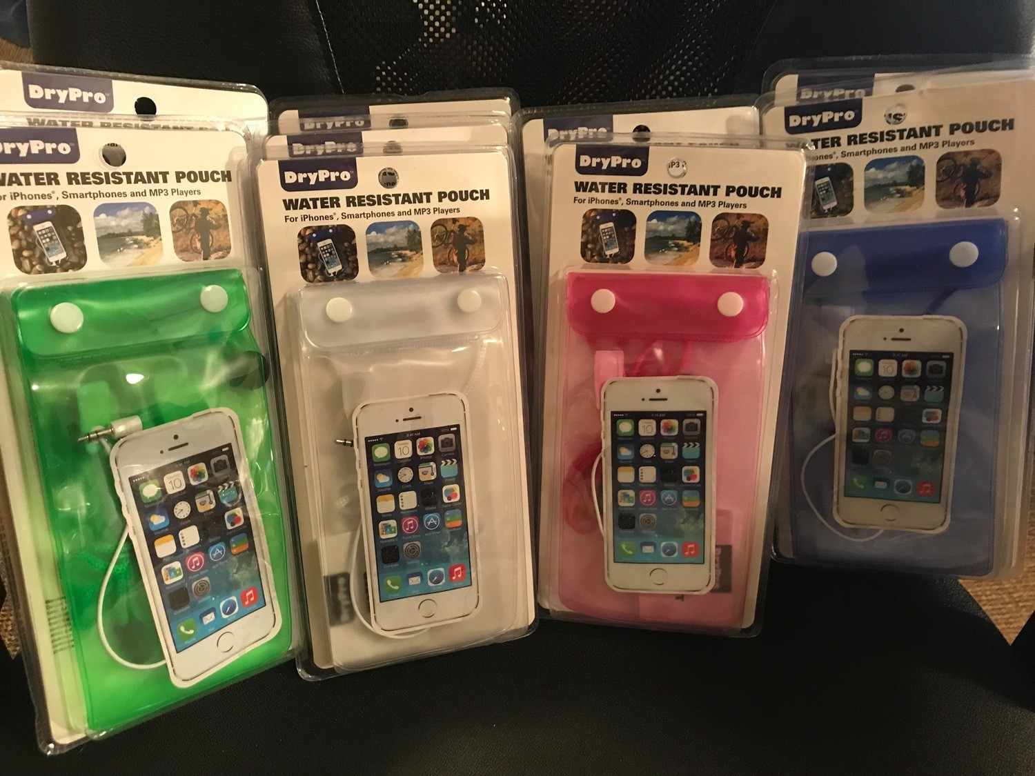 Dry Pro Water Resistant Pouch for Iphones , smartphones and MP3 players