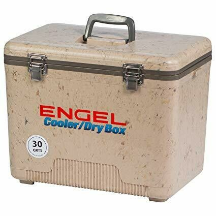 Engel Cooler Dry Box 30 Qt Grassland