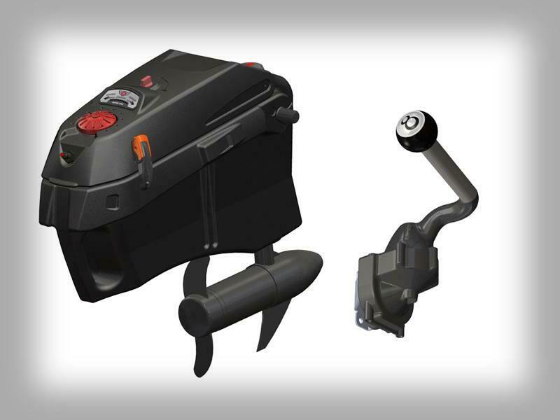 Jonny Pod Console With Steerable 12 V 40# Thrust Motor