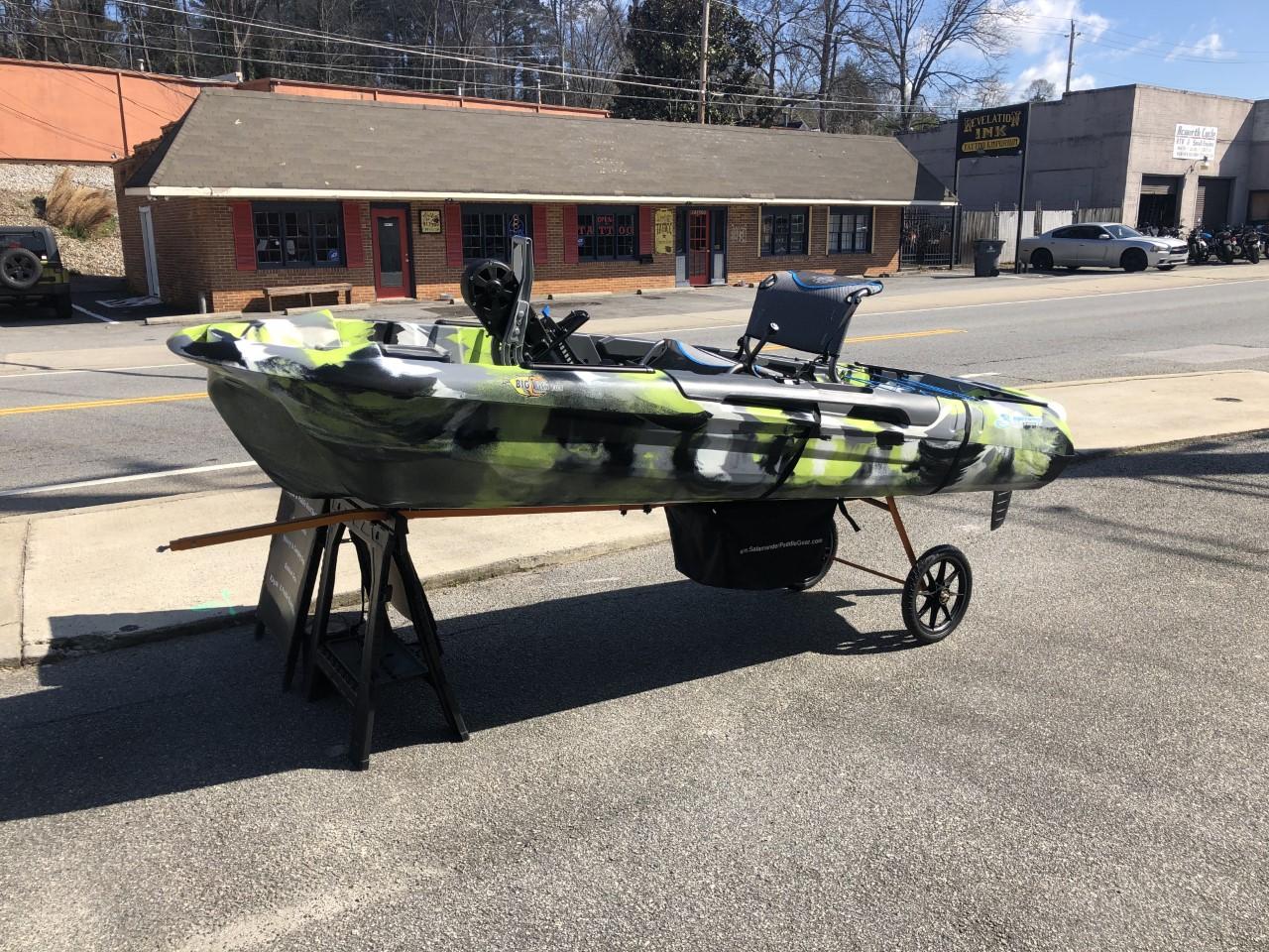 3 Waters Kayaks Big Fish 108 Peddle Drive Kayak