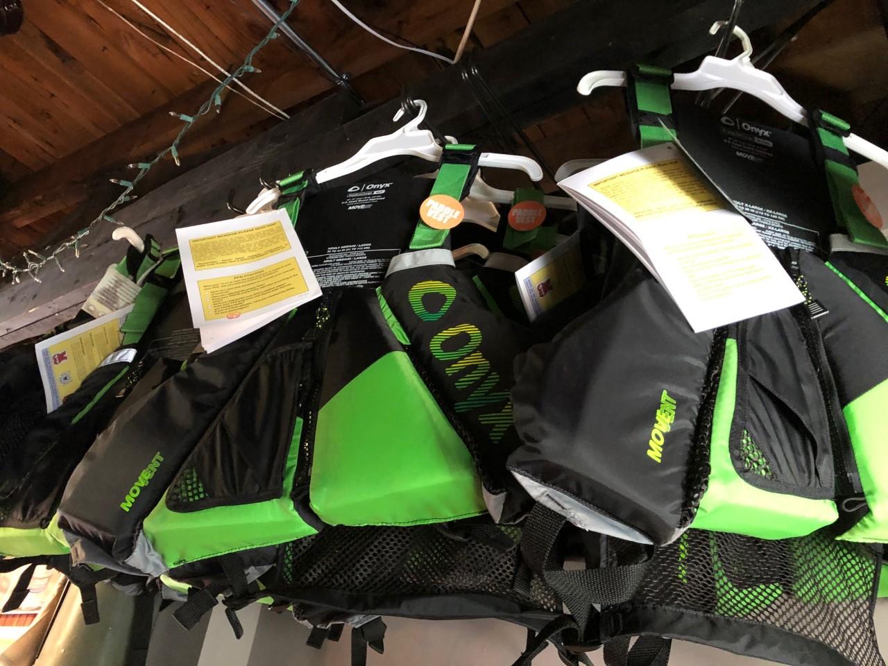 Onyx Paddle Vest PFD  Green M/l
