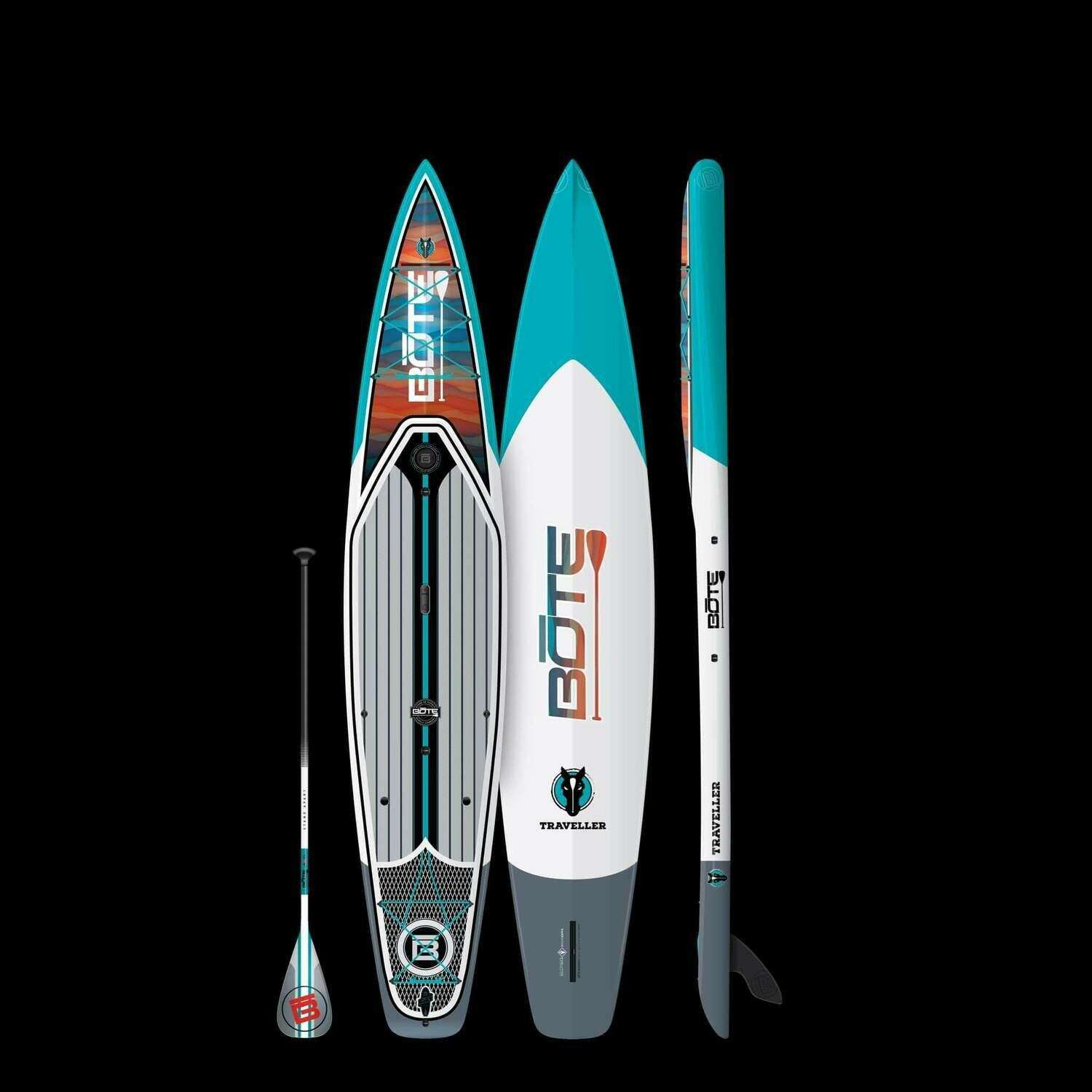 Bote Traveller Native Epoxy Board 12'6""