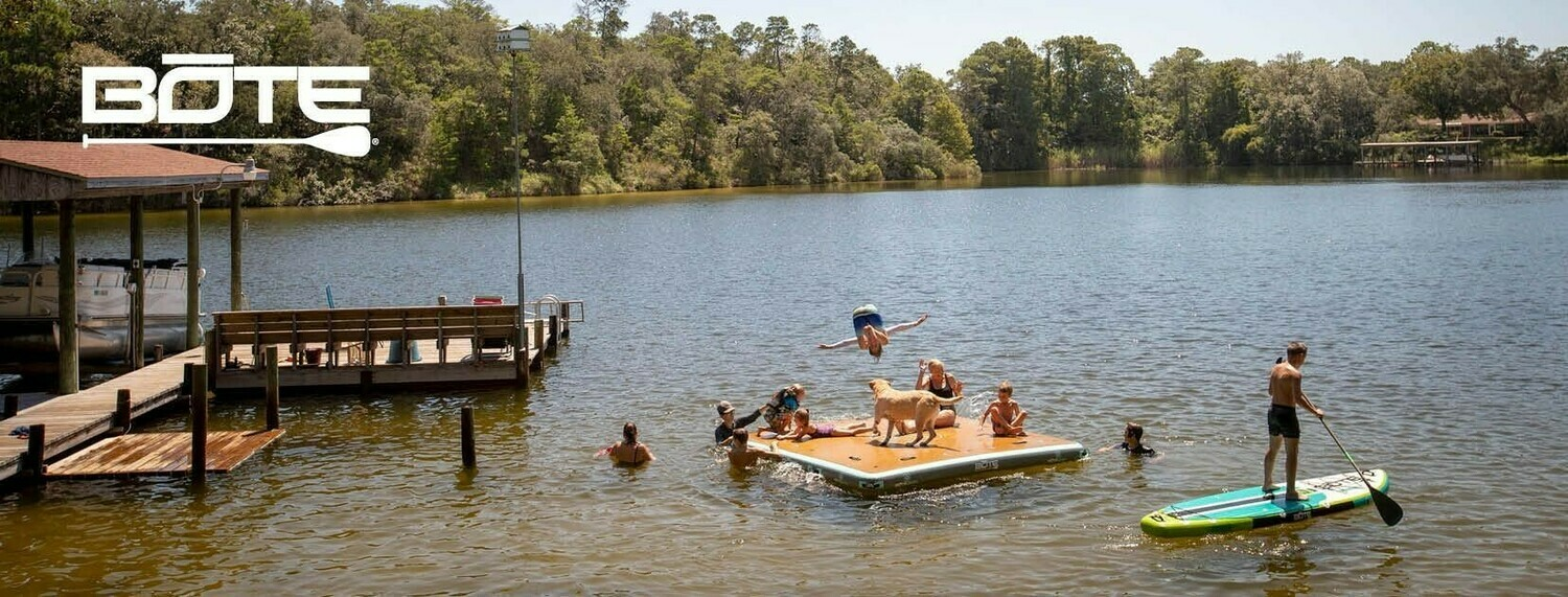 Bote Dock 7'x7'   **** NO SHIPPING STORE PICKUP ONLY ********