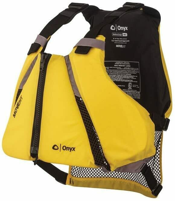 Onyx Curve MOVEVENT Paddle Sports PFD  Med/Large
