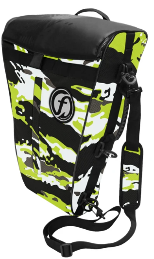 Feel Free Fish Bag Cooler Lime Camo