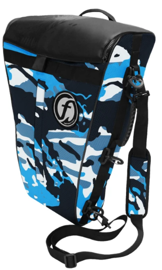 Feel Free Fish Bags/ Coolers Blue Camo