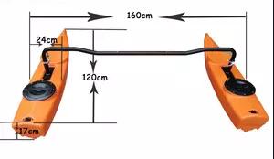 Kayak Stabalizers Polyethelyne Pontoons