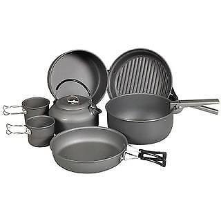 Ndor 9 Piece Cookware Kit With Kettle
