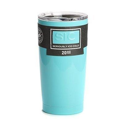 SIC Cup 20oz Tumbler Seafoam Blue