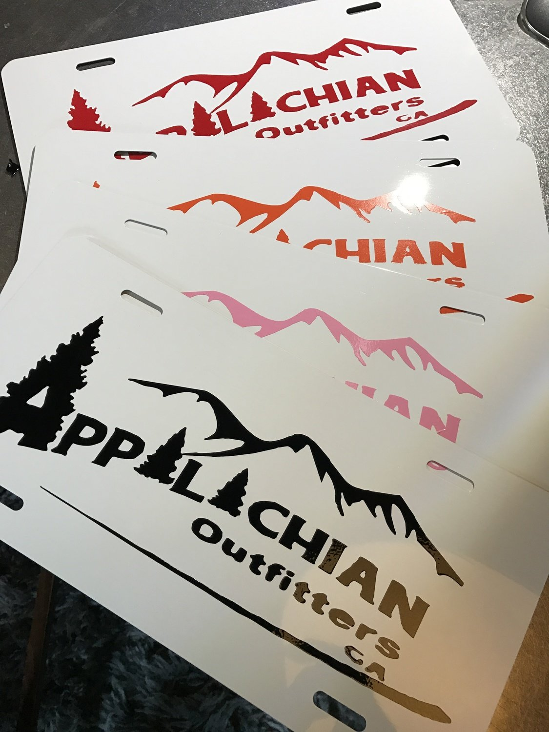 Appalachian Outfitters Car Tag