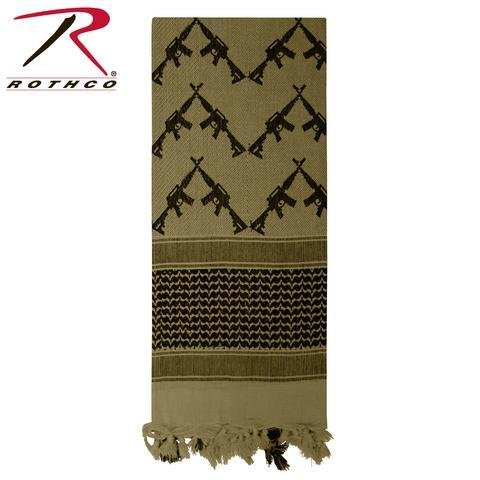 Appoutga-crossed-rifles-shemagh-tactical-scarf OD