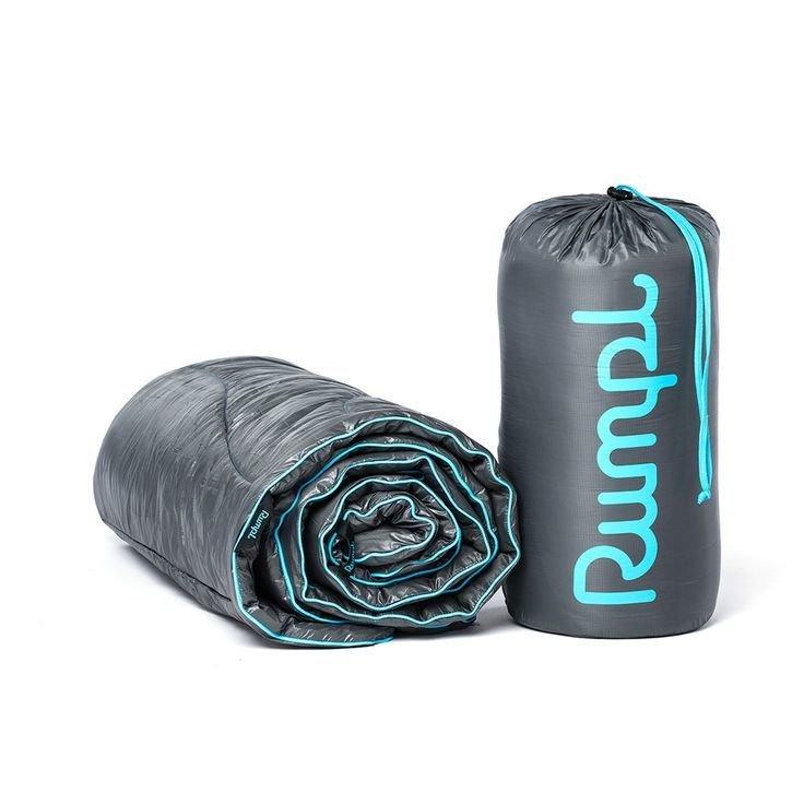 Rumpl The Original Puffy Blanket Jr. Charcoal Grey