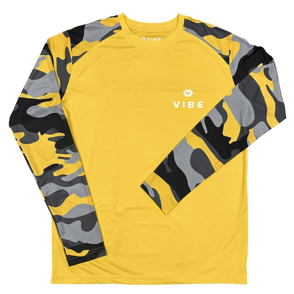 Vibe Performance Long Sleeve Yellow