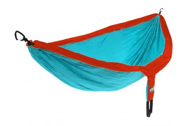 eno-double-nest-hammock-powder-blue-navy aqua/red