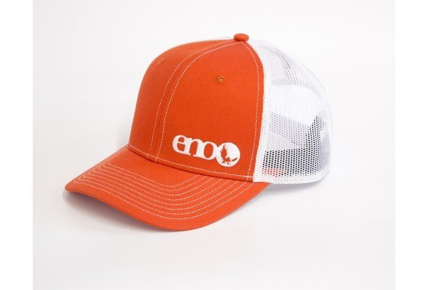 Eno Trucker  Cap Orange/White