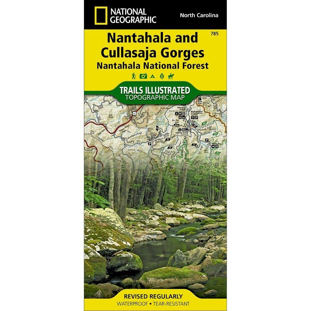 National Geographic #785 Nantahala and Cullasaja Gorges (Nantahala National Forest) Trail Map