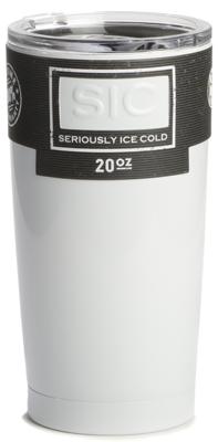 SIC Cup 20oz. Tumbler Ice White