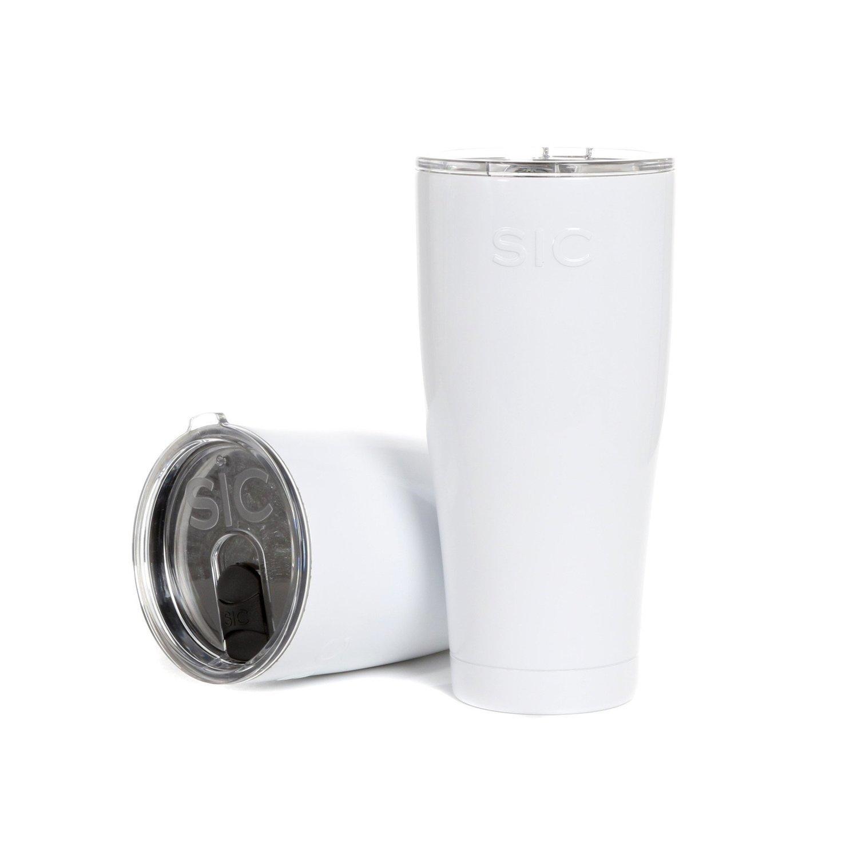 SIC Cup 30oz Tumbler Ice White