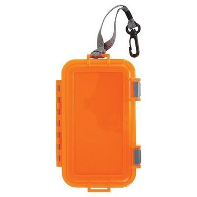 Outdoor Medium Watertight Dry Box Case Orange