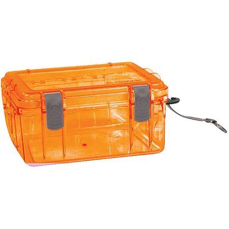 Outdoor Small Watertight Dry Box Orange