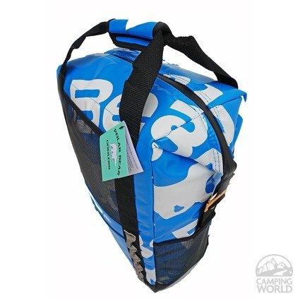 Polar Bear H20  Waterproof Backpack Cooler 18 Pack Blue
