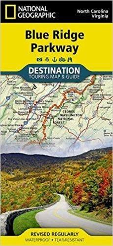 Blue Ridge Parkway Destination Map