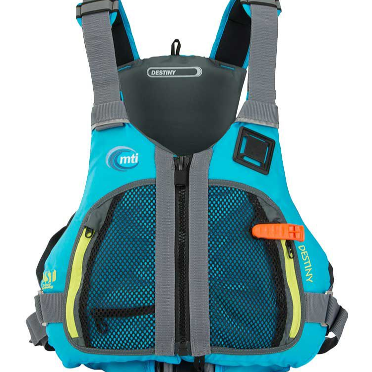Destiny Tropical Blue Life Vest
