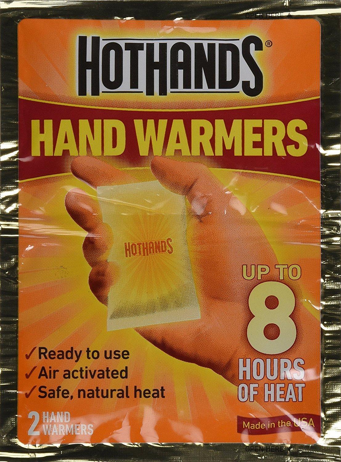 Hot Hands Hand Warmers 2 pack