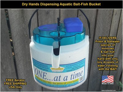 One At A Time Kayak Bait Bucket