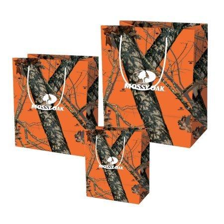 Mossy Oak Gift Bags Orange