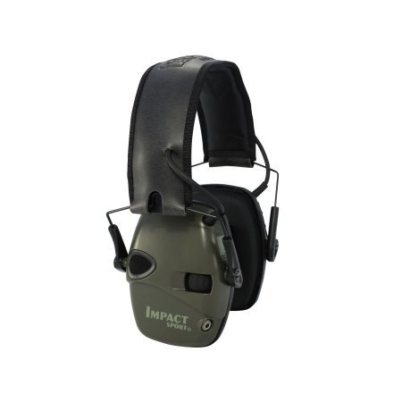 Howard Leight Shooters Electronic Earmuffs OD Green